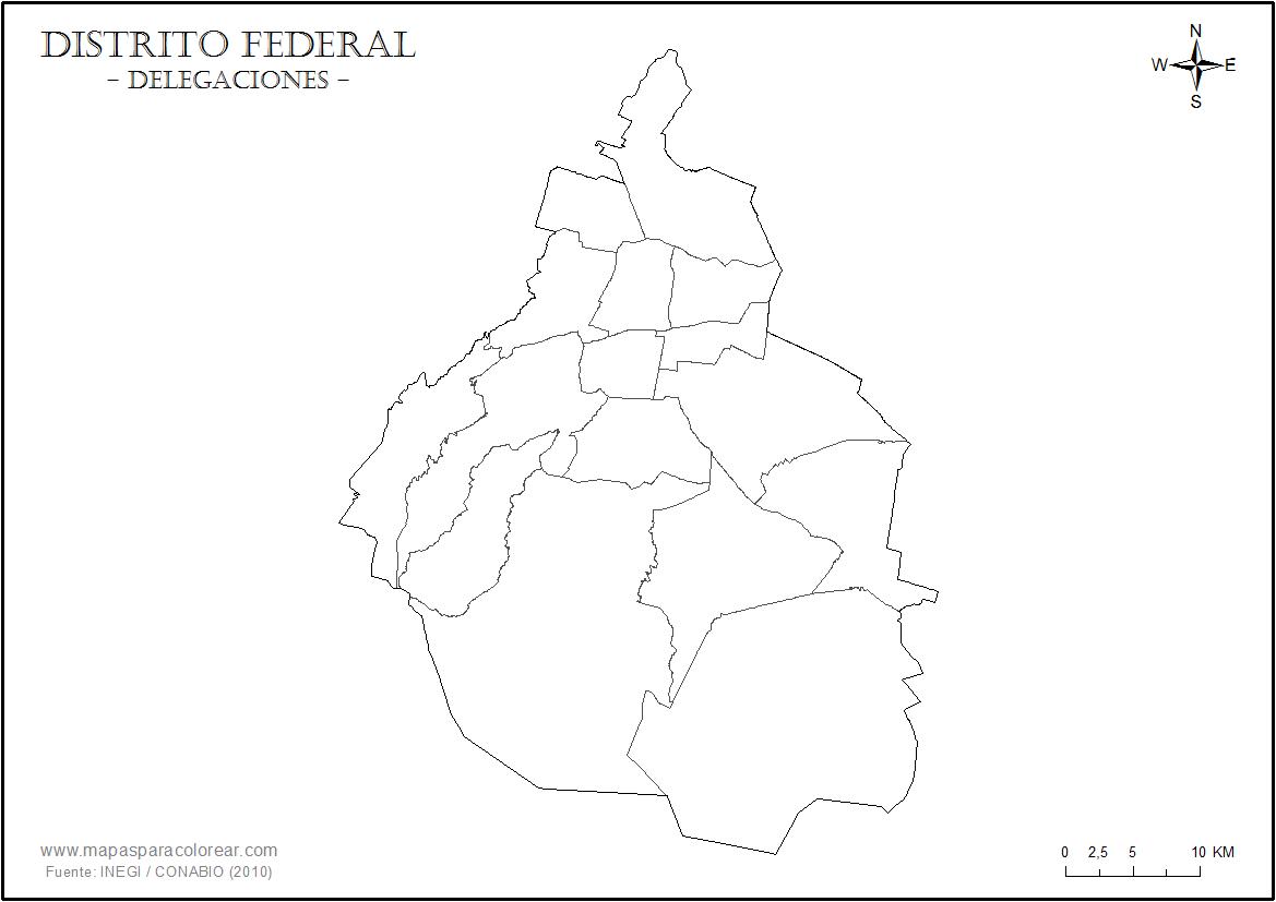 Mapas - Ciudad de México | Guía CDMX - DF: Lo Mejor del